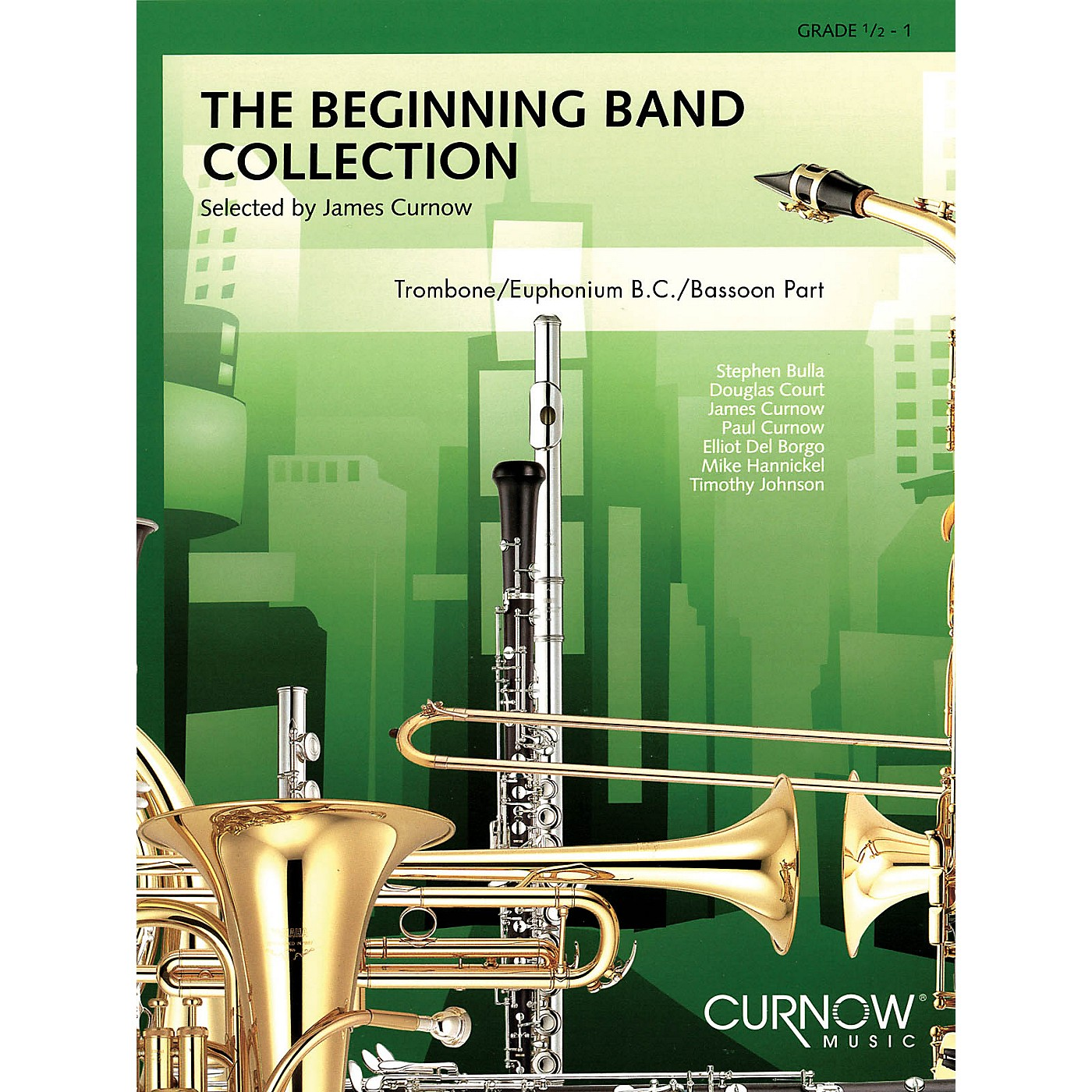 Curnow Music The Beginning Band Collection (Grade 0.5) Concert Band Level .5 to 1 Arranged by James Curnow thumbnail