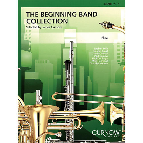 Curnow Music The Beginning Band Collection (Grade 0.5) (Flute) Concert Band Level .5 to 1 Arranged by James Curnow thumbnail