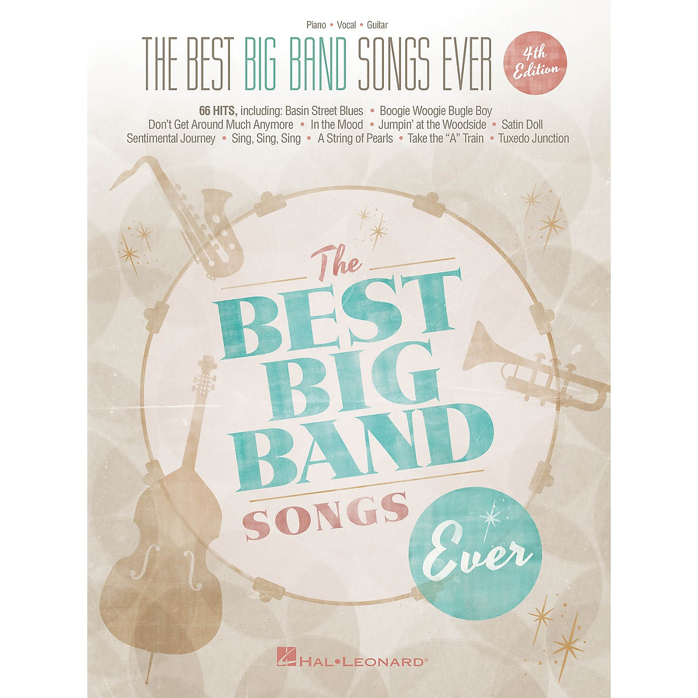 Hal Leonard The Best Big Band Songs Ever - 4th Edition Piano/Vocal/Guitar Songbook thumbnail
