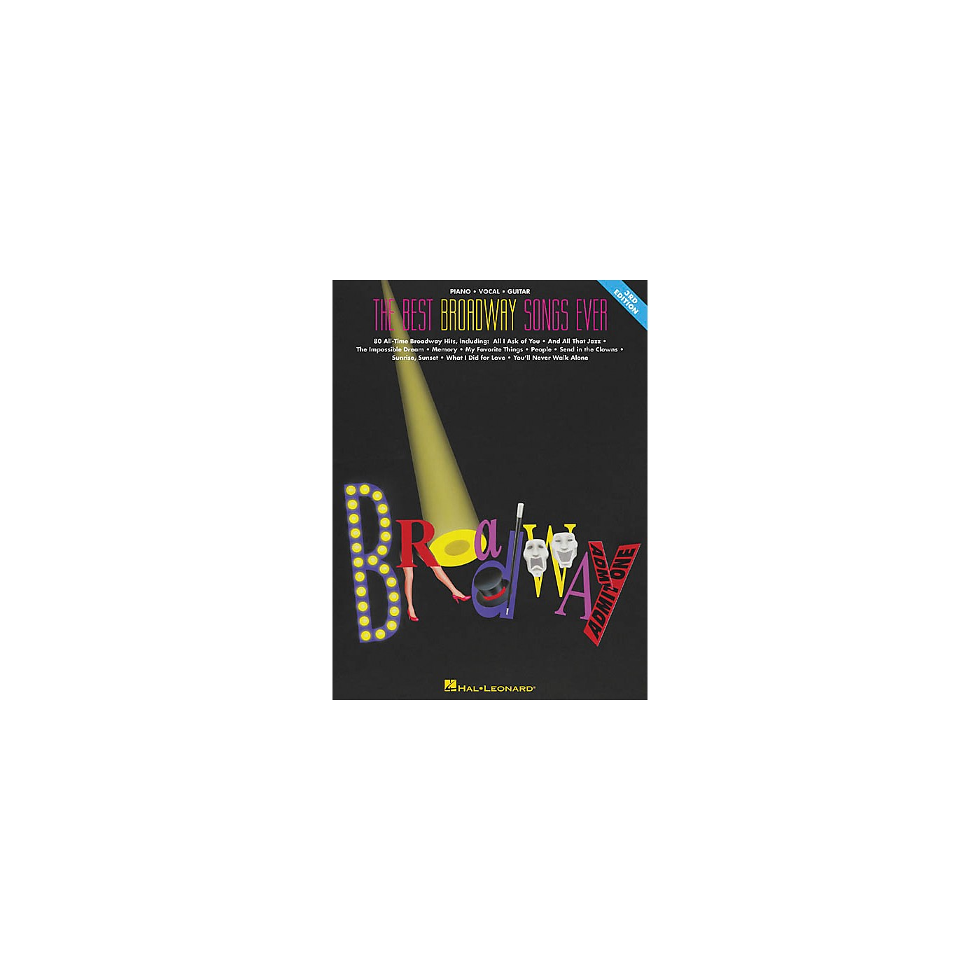 Hal Leonard The Best Broadway Songs Ever Updated Piano, Vocal, Guitar Songbook thumbnail