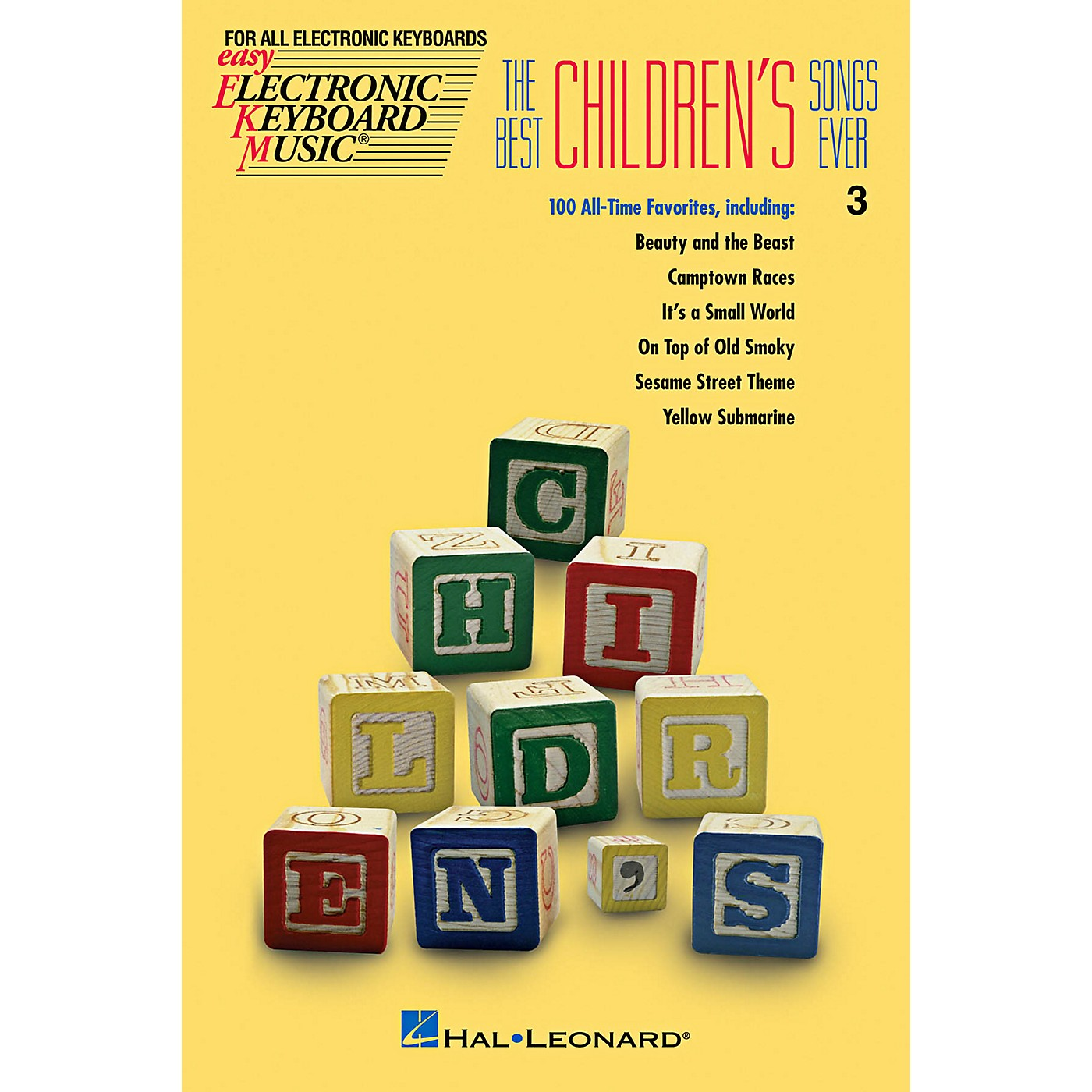 Hal Leonard The Best Children's Songs Ever EKM series #3 thumbnail