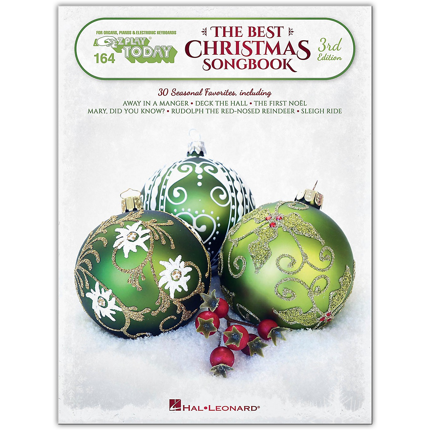 Hal Leonard The Best Christmas Songbook - 3rd Edition E-Z Play Today Volume 164 thumbnail