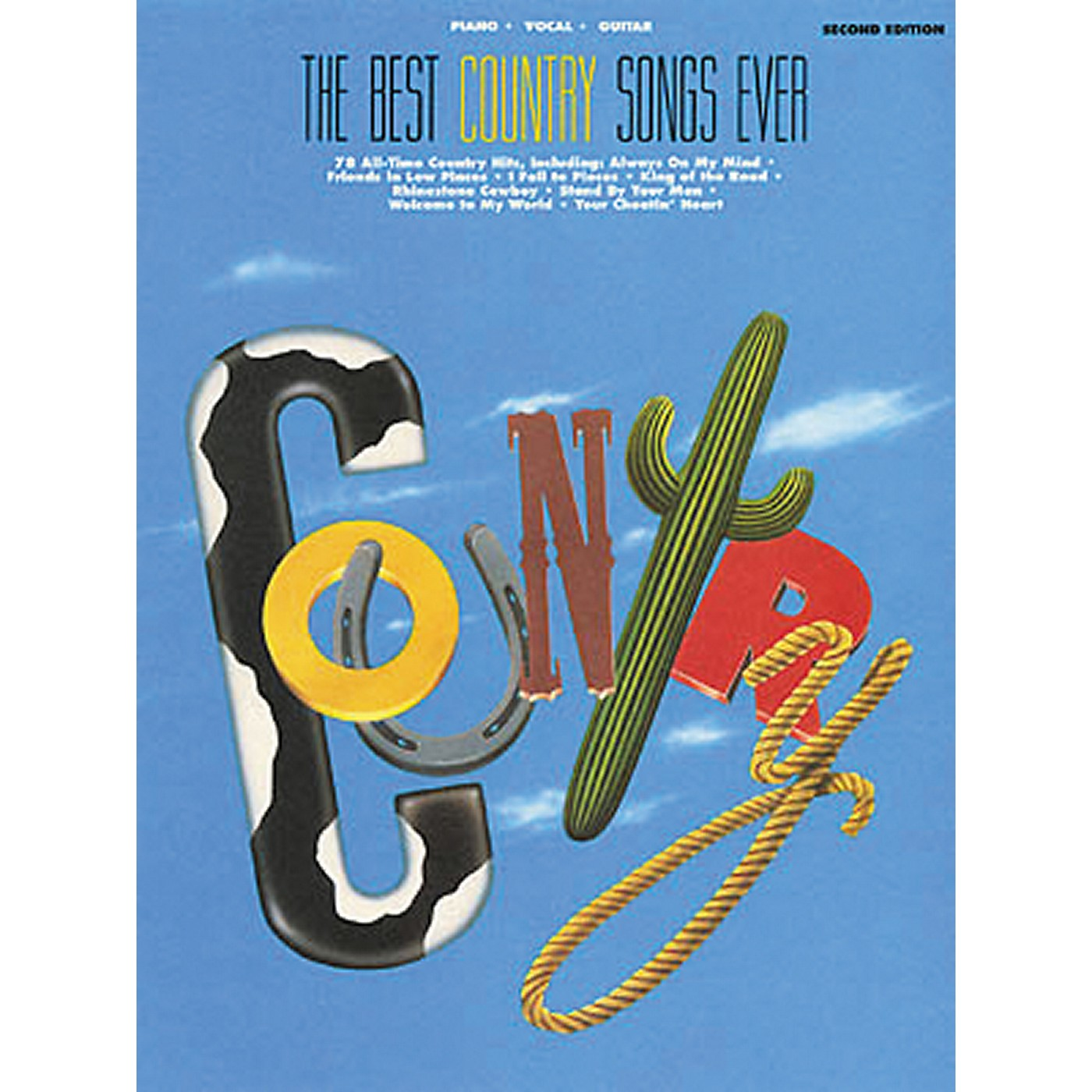 Hal Leonard The Best Country Songs Ever 2nd Edition Piano, Vocal, Guitar Songbook thumbnail