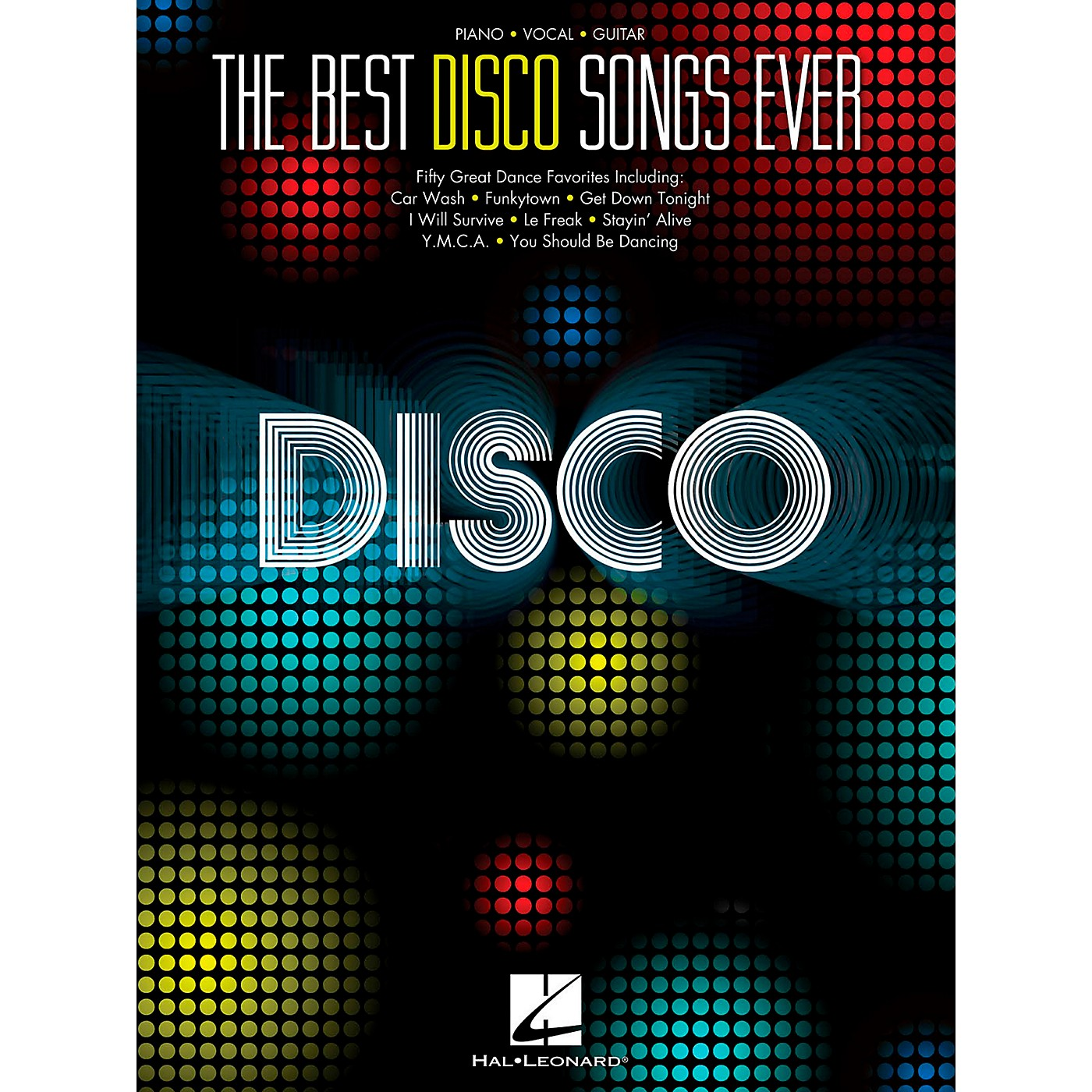 Hal Leonard The Best Disco Songs Ever for Piano/Vocal/Guitar PVG thumbnail
