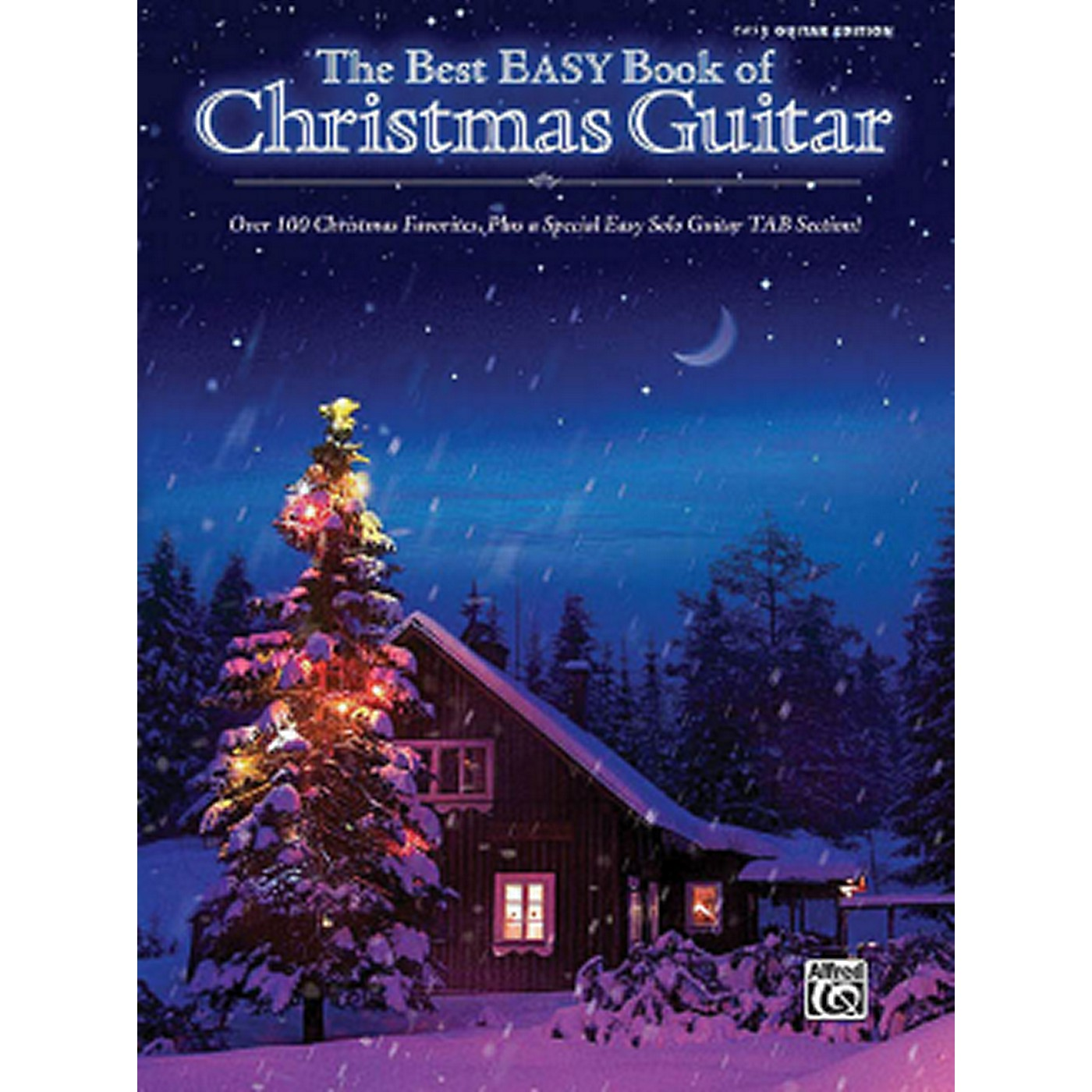 Hal Leonard The Best Easy Book Of Christmas Guitar Easy Guitar Tab Songbook thumbnail