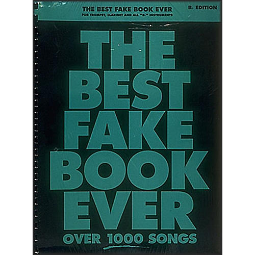Hal Leonard The Best Fake Book Ever - Bb Edition thumbnail