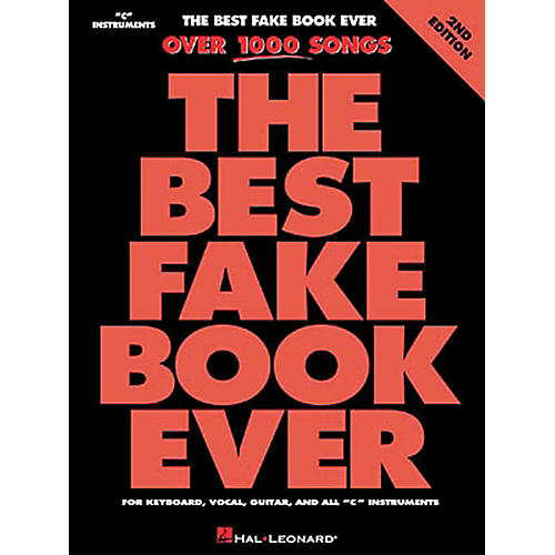 Hal Leonard The Best Fake Book Ever 4th Edition thumbnail