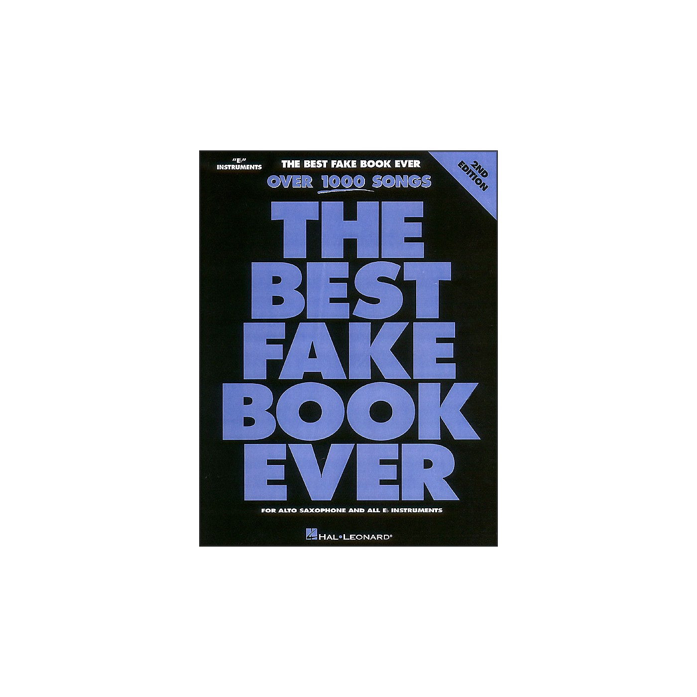 Hal Leonard The Best Fake Book Ever Eb Edition thumbnail