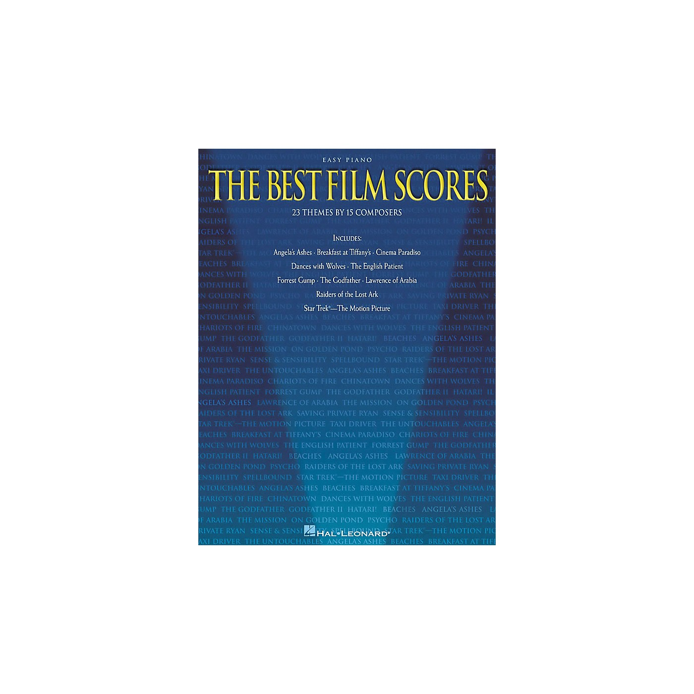 Hal Leonard The Best Film Scores For Easy Piano thumbnail