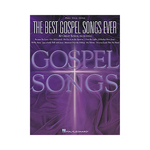 Hal Leonard The Best Gospel Songs Ever Piano, Vocal, Guitar Songbook-thumbnail