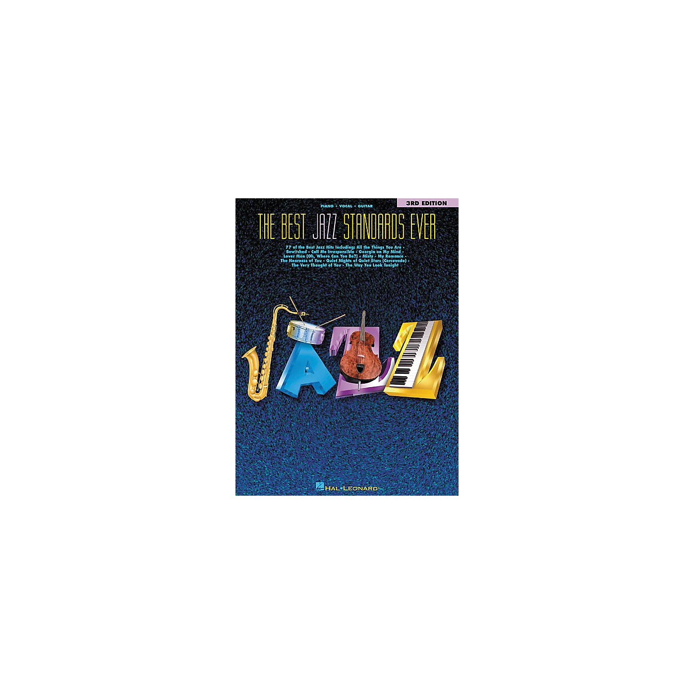 Hal Leonard The Best Jazz Standards Ever 3rd Edition Songbook thumbnail