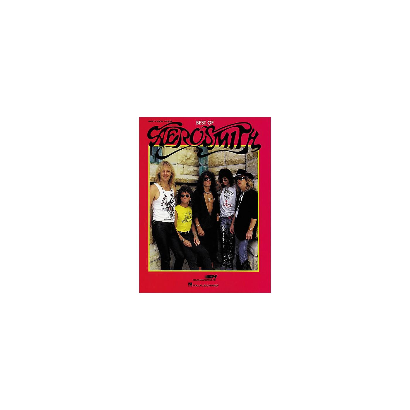 Hal Leonard The Best Of Aerosmith Piano/Vocal/Guitar Artist Songbook thumbnail