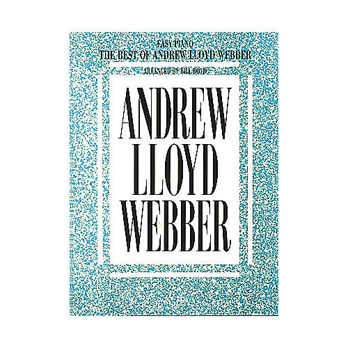 Hal Leonard The Best Of Andrew Lloyd Webber For Easy Piano by Bill Boyd-thumbnail