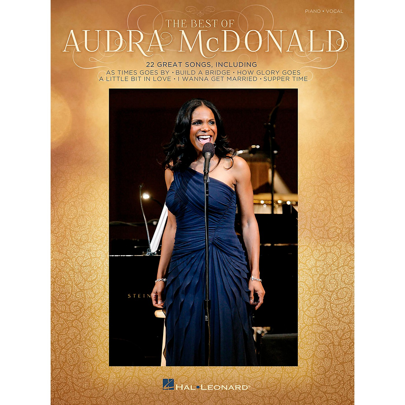 Hal Leonard The Best Of Audra Mcdonald for Piano/Vocal/Guitar PVG thumbnail