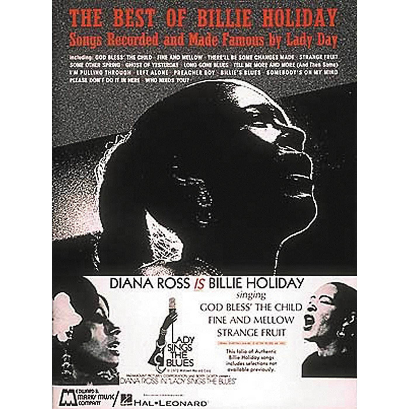 Hal Leonard The Best Of Billie Holiday Piano, Vocal, Guitar Songbook thumbnail