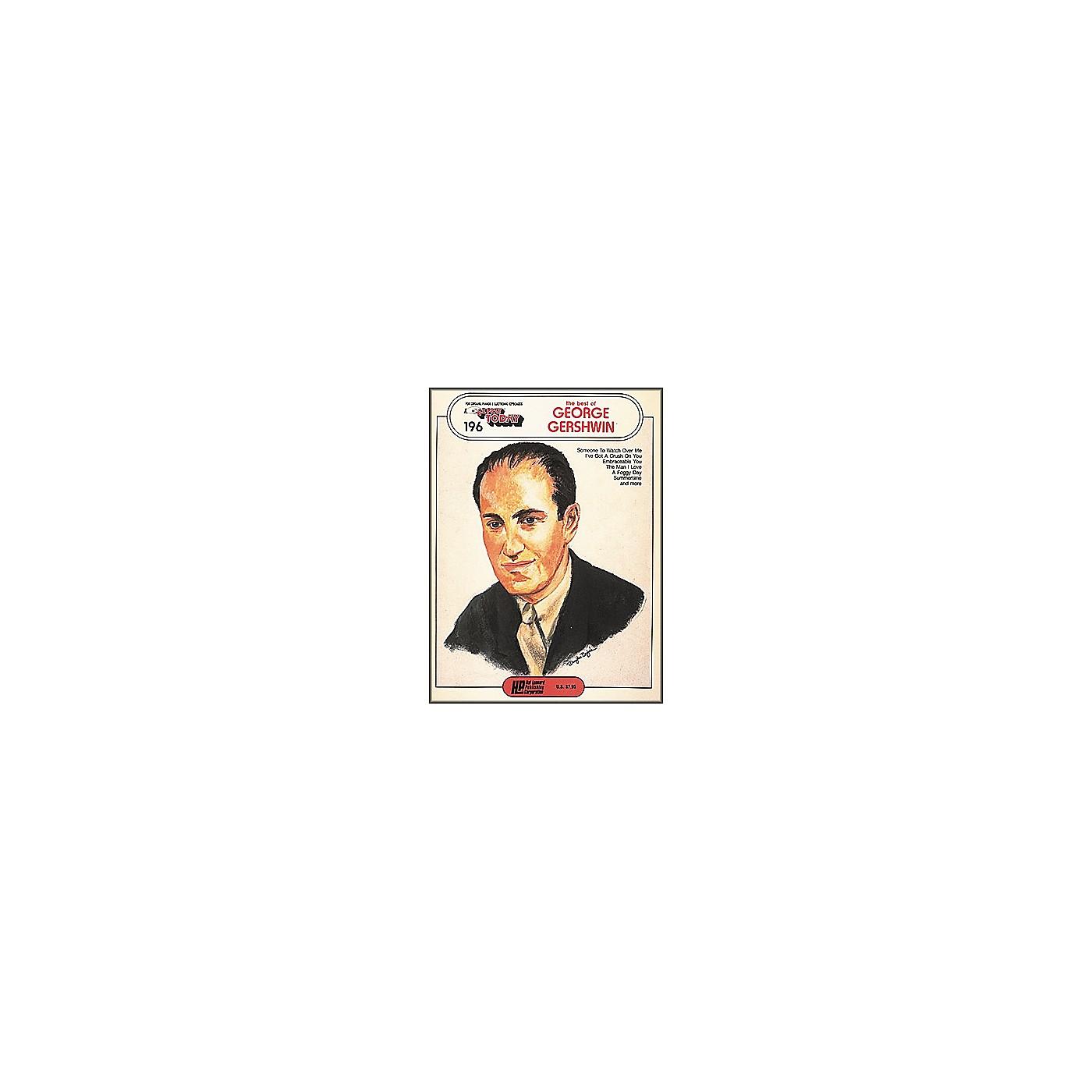 Hal Leonard The Best Of George Gershwin E-Z Play 196 thumbnail