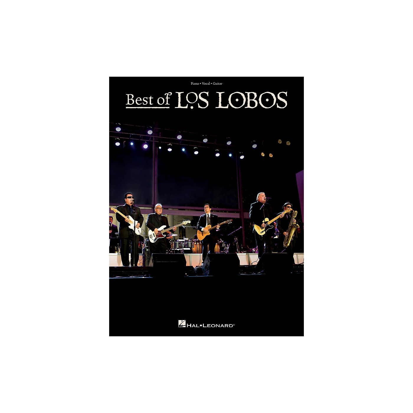 Hal Leonard The Best Of Los Lobos For Piano/Vocal/Guitar thumbnail