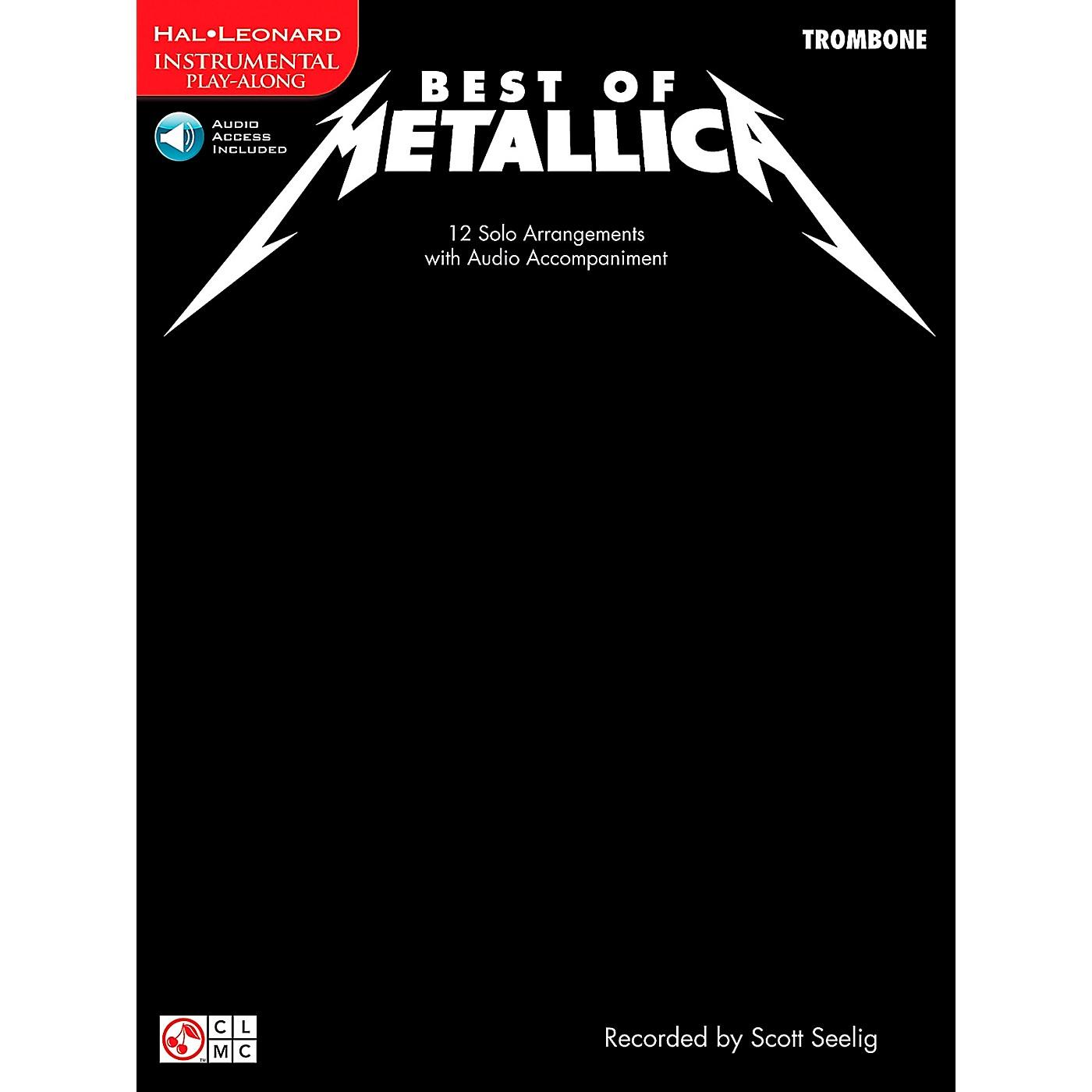 Cherry Lane The Best Of Metallica Trombone thumbnail