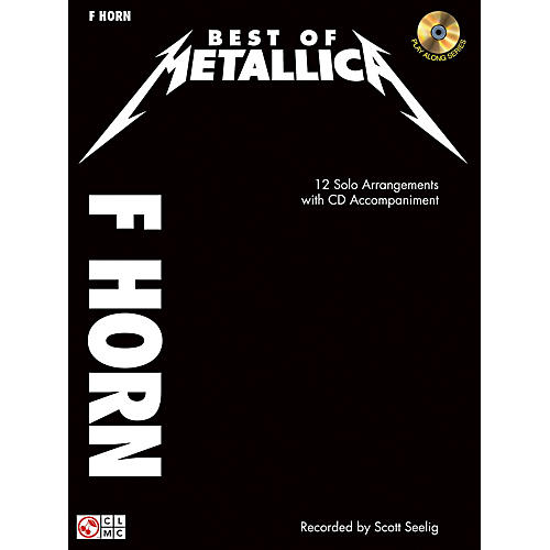Cherry Lane The Best Of Metallica for French Horn Book/CD thumbnail
