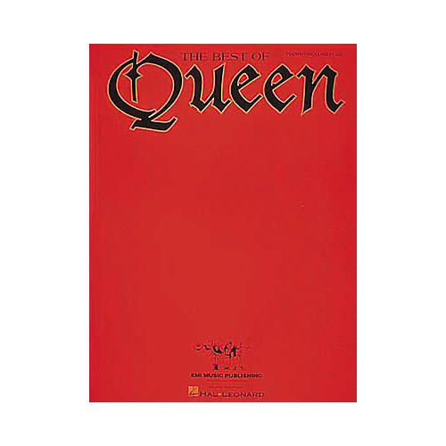 Hal Leonard The Best Of Queen Piano, Vocal, Guitar Songbook thumbnail