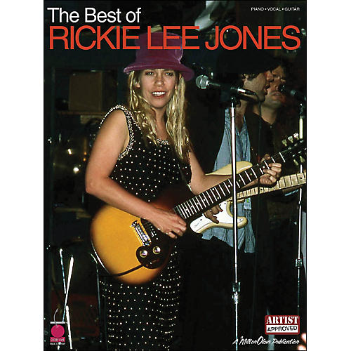 Cherry Lane The Best Of Rickie Lee Jones arranged for piano, vocal, and guitar (P/V/G) thumbnail