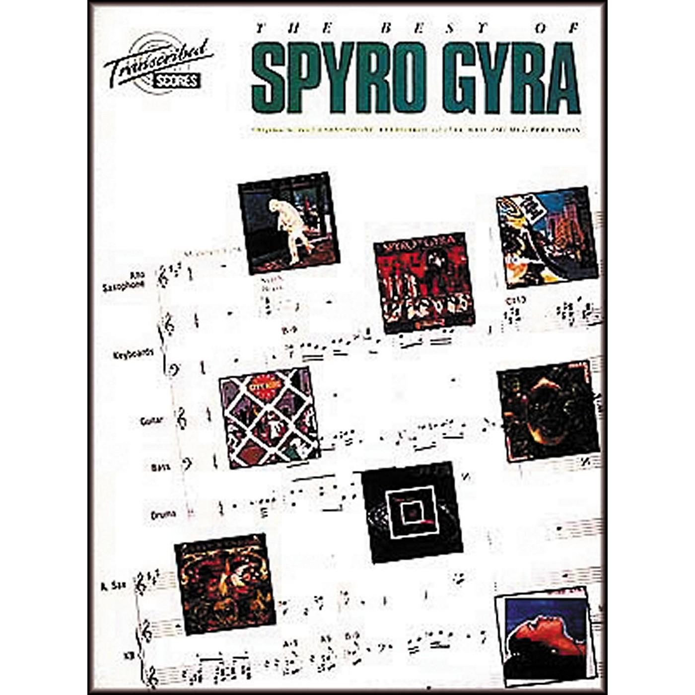 Hal Leonard The Best Of Spyro Gyra Complete Score thumbnail
