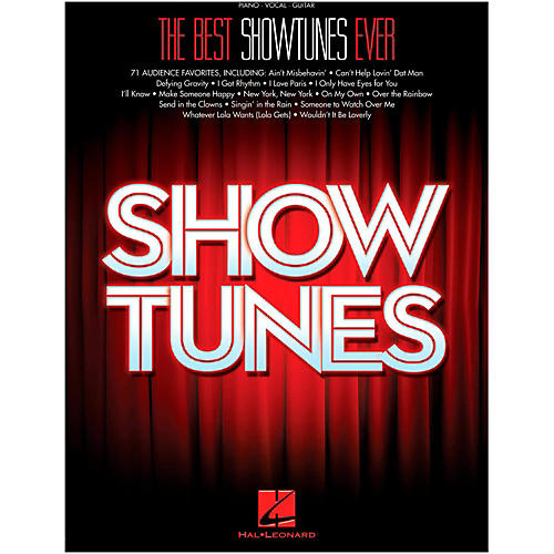 Hal Leonard The Best Showtunes Ever for Piano/Vocal/Guitar thumbnail