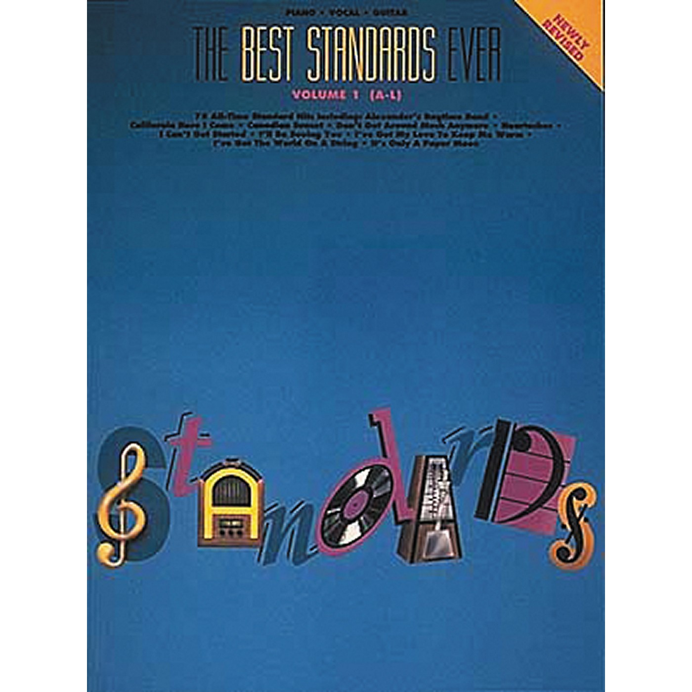 Hal Leonard The Best Standards Ever Volume 1 A-L Revised Piano, Vocal, Guitar Songbook thumbnail