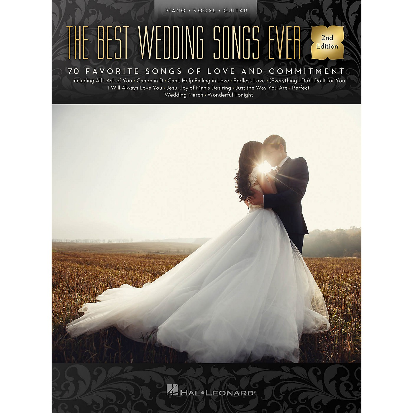 Hal Leonard The Best Wedding Songs Ever - 2nd Edition Piano/Vocal/Guitar Songbook thumbnail