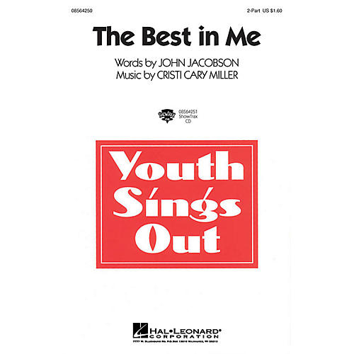 Hal Leonard The Best in Me ShowTrax CD Composed by John Jacobson, Cristi Cary Miller thumbnail