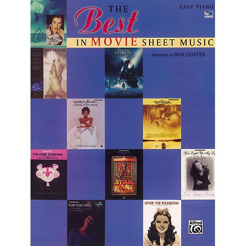 Alfred The Best in Movie Sheet Music Easy Piano thumbnail