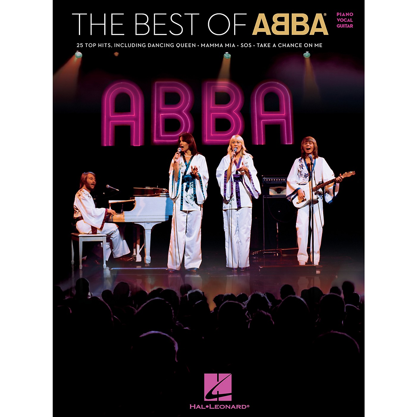 Hal Leonard The Best of ABBA Piano/Vocal/Guitar Songbook thumbnail