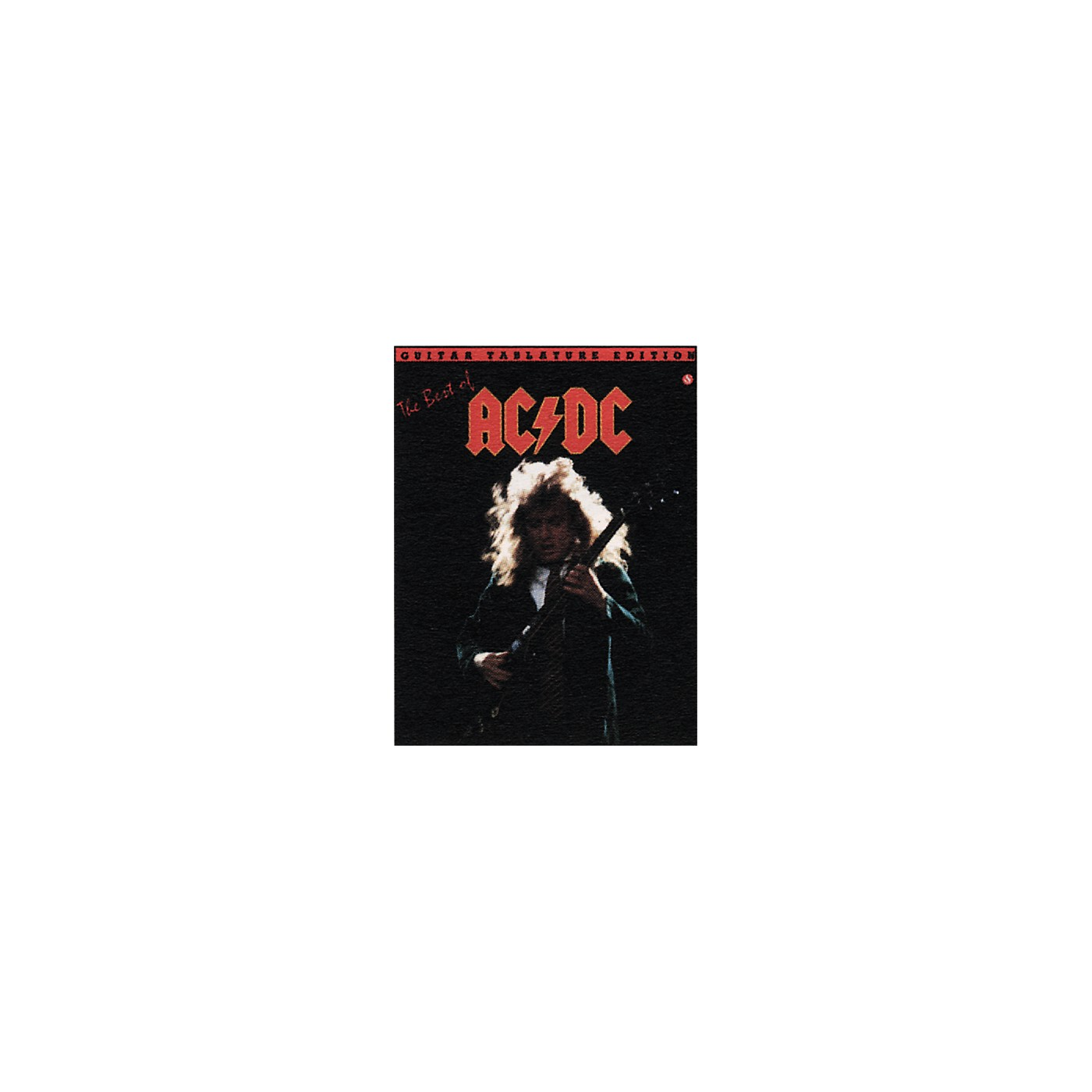 Music Sales The Best of AC/DC Guitar Tab Book thumbnail