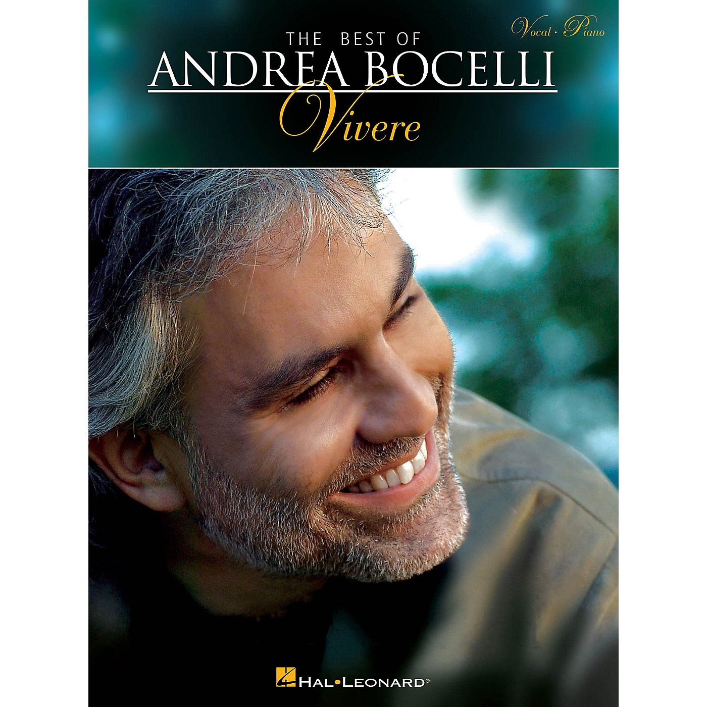 Hal Leonard The Best of Andrea Bocelli: Vivere Vocal/Piano Songbook thumbnail