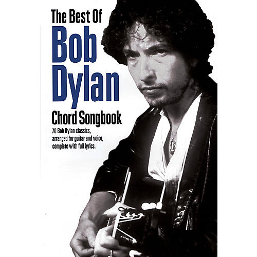 Music Sales The Best of Bob Dylan Chord Songbook Guitar Chord Songbook Series Softcover Performed by Bob Dylan thumbnail