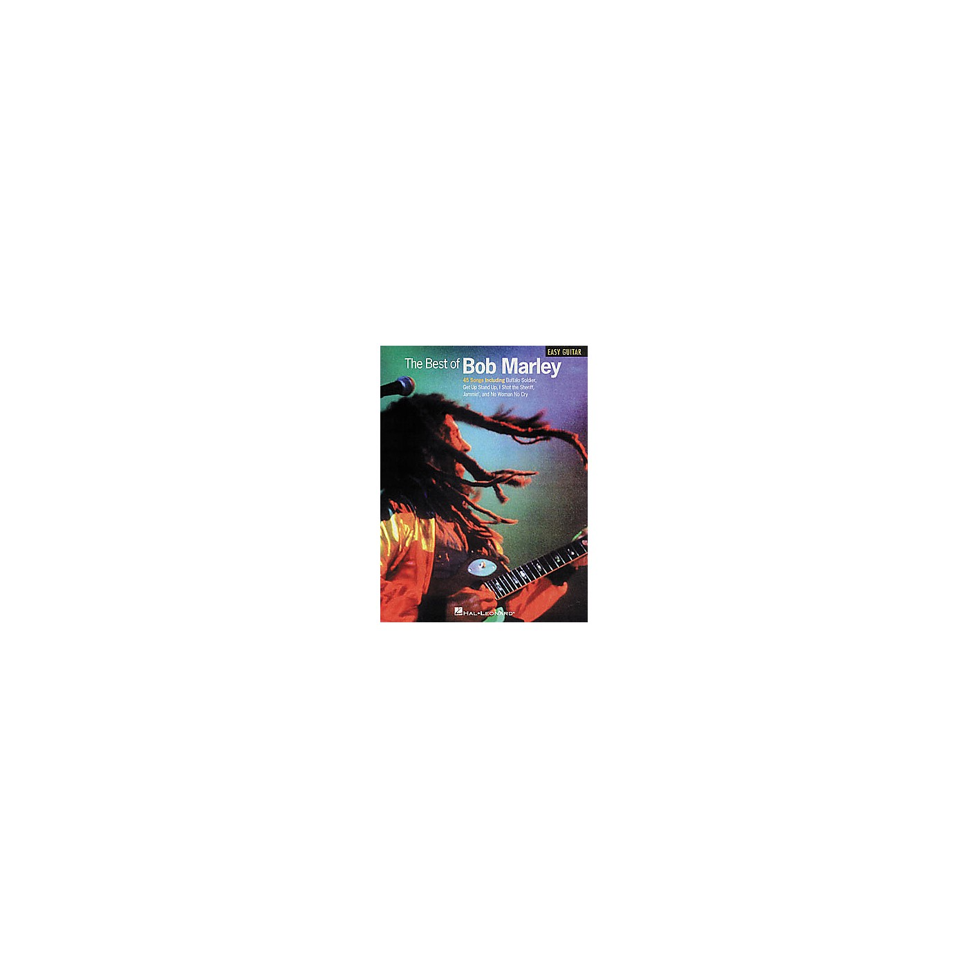 Hal Leonard The Best of Bob Marley Easy Guitar Tab Book thumbnail