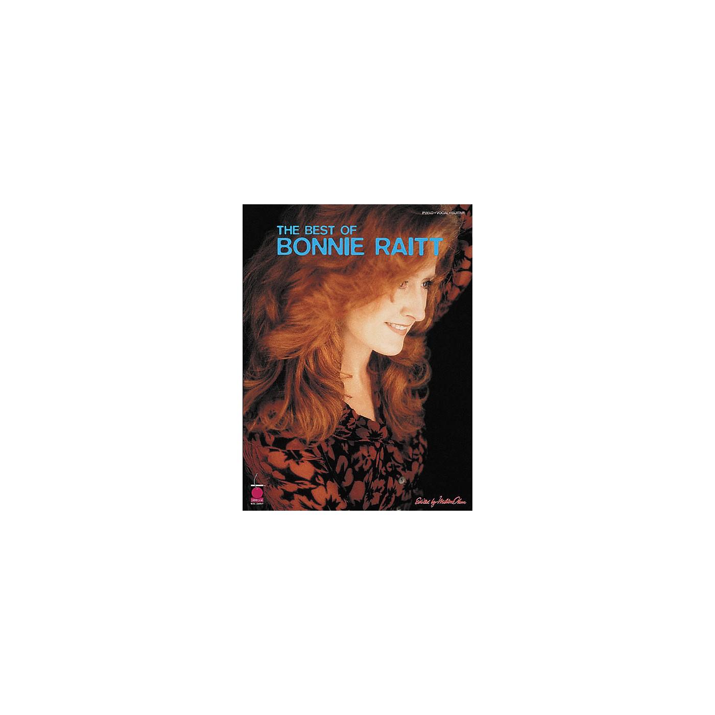 Cherry Lane The Best of Bonnie Raitt Book Piano/Vocal/Guitar Artist Songbook thumbnail