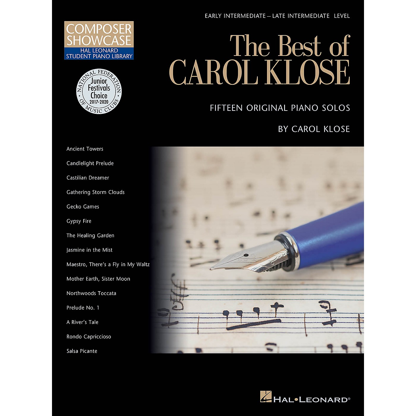 Hal Leonard The Best of Carol Klose Piano Library Series Book by Carol Klose (Level Inter) thumbnail