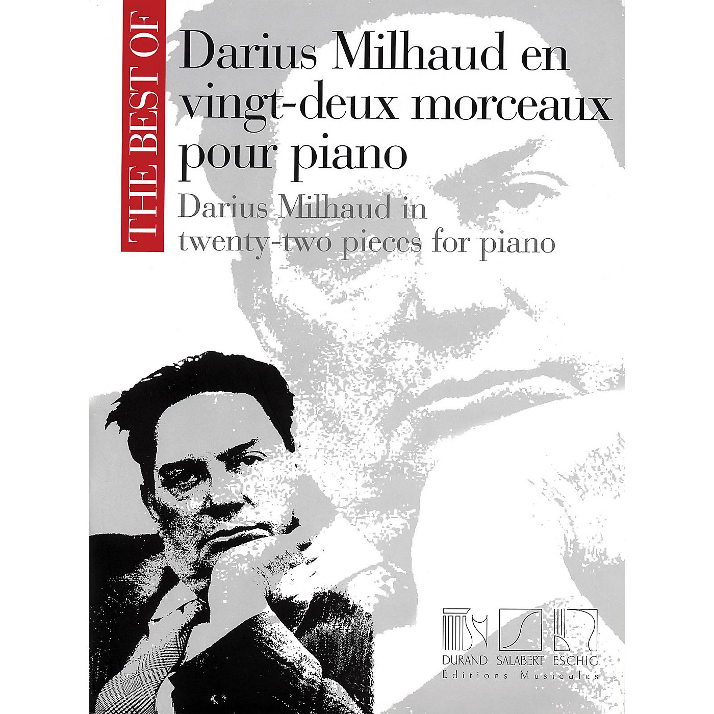 Max Eschig The Best of Darius Milhaud in Twenty-Two Pieces for Piano Editions Durand Series thumbnail