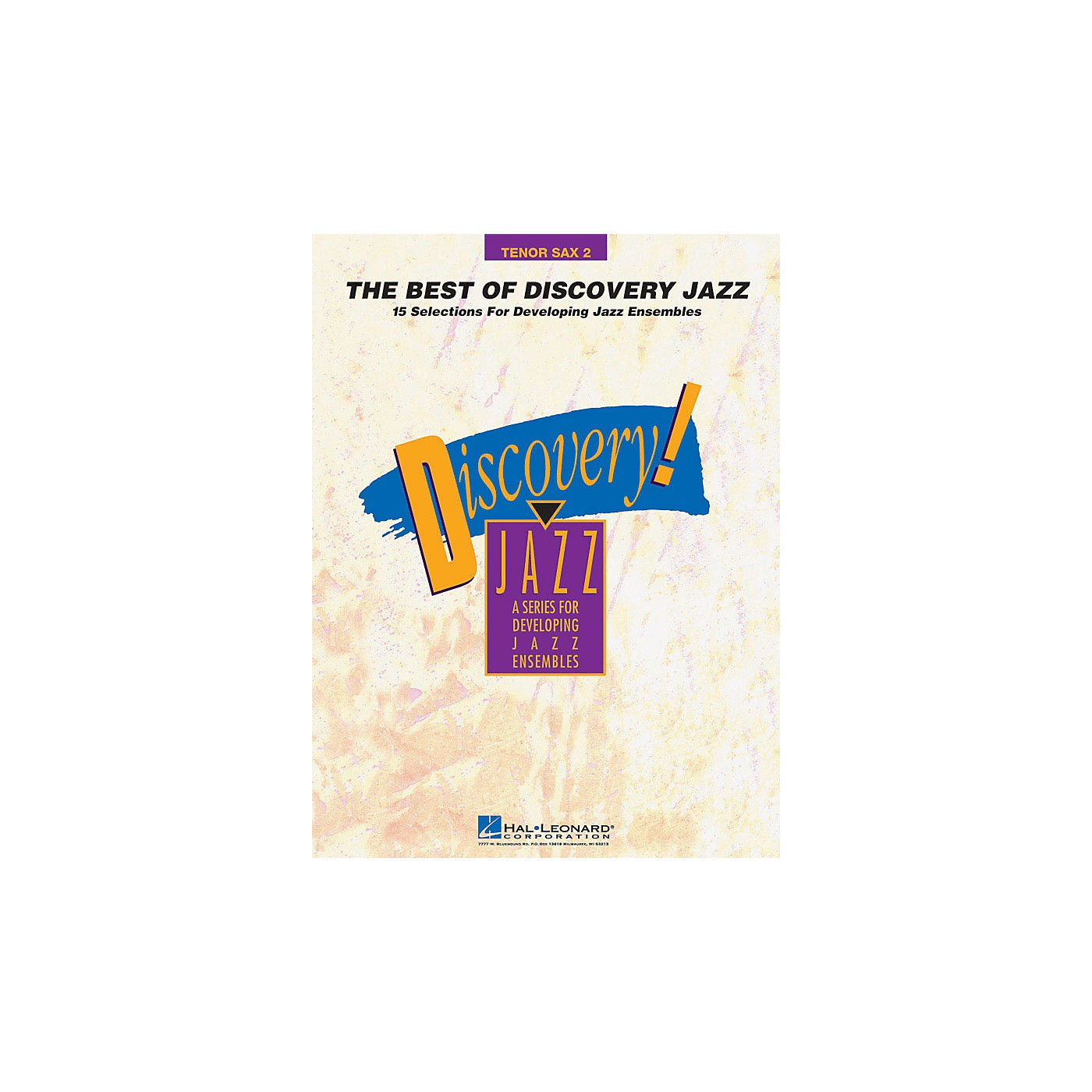 Hal Leonard The Best of Discovery Jazz (Tenor Sax 2) Jazz Band Level 1-2 Composed by Various thumbnail