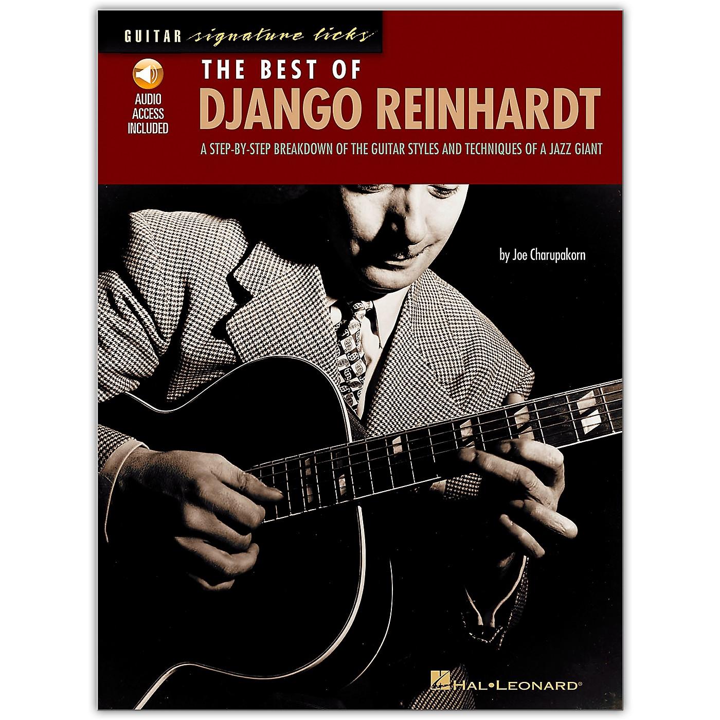 Hal Leonard The Best of Django Reinhardt Guitar Signature Licks Book with CD thumbnail