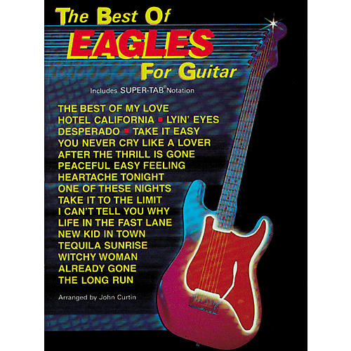 Hal Leonard The Best of Eagles Guitar Tab Book thumbnail