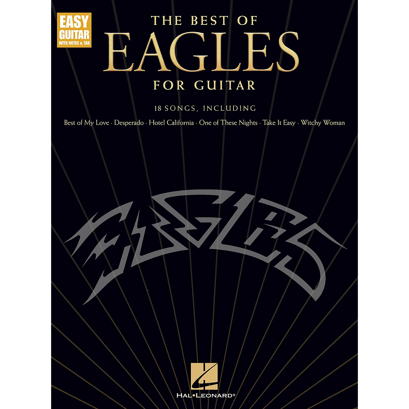 Hal Leonard The Best of Eagles for Guitar - Easy Guitar Songbook (Updated Edition) thumbnail