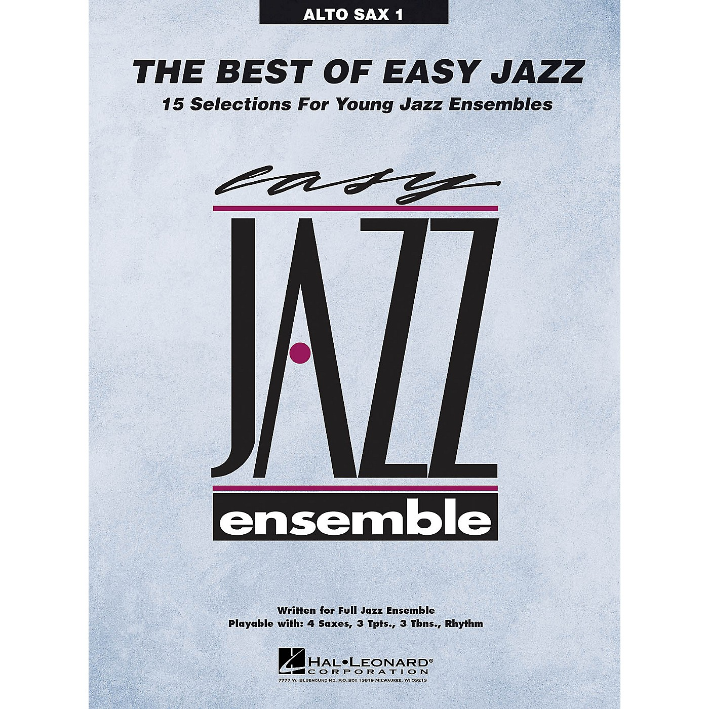 Hal Leonard The Best of Easy Jazz - Alto Sax 1 from Easy Jazz Ensemble Series (Jazz Band Level 2) thumbnail