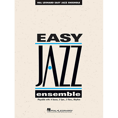 Hal Leonard The Best of Easy Jazz - CD (15 Selections from the Easy Jazz Ensemble Series) Jazz Band Level 2 thumbnail