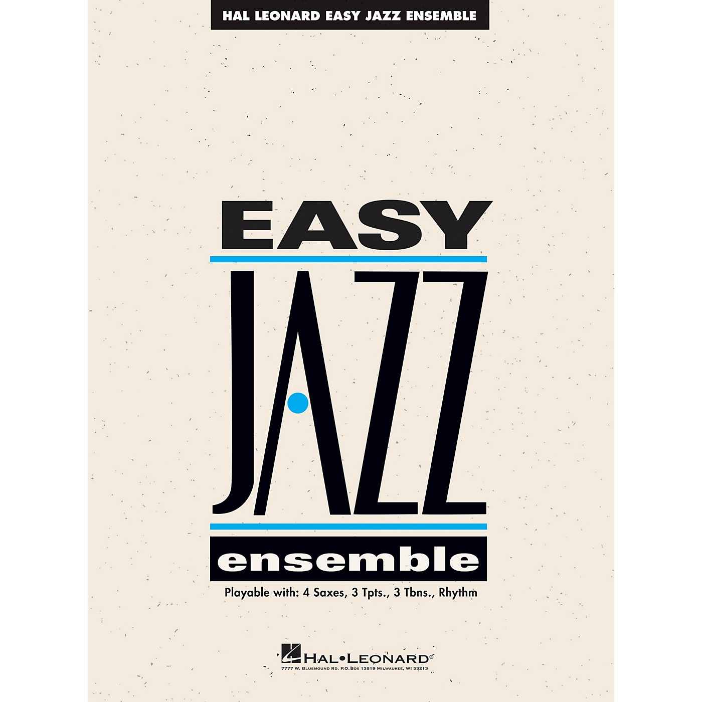 Hal Leonard The Best of Easy Jazz - Drums (15 Selections from the Easy Jazz Ensemble Series) Jazz Band Level 2 thumbnail