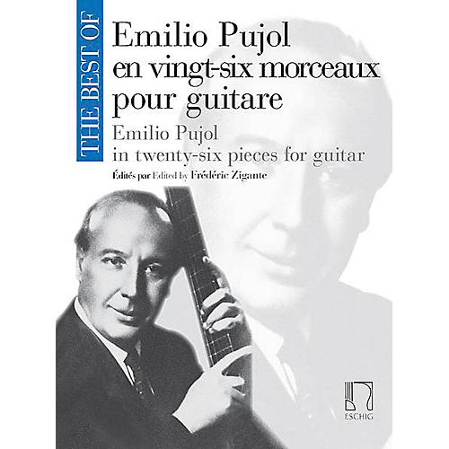 Max Eschig The Best of Emilio Pujol Editions Durand Softcover Composed by Emilio Pujol Edited by Frédéric Zigante thumbnail