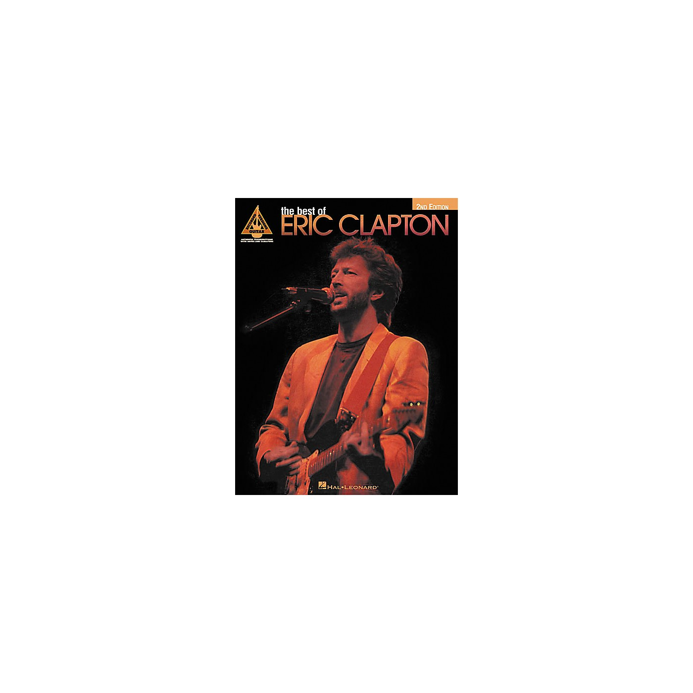 Hal Leonard The Best of Eric Clapton 2nd Edition Guitar Tab Songbook thumbnail