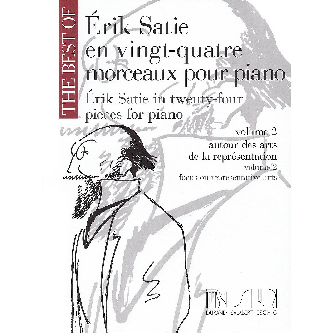 Editions Durand The Best of Erik Satie (24 Pieces for Piano, Volume 2) MGB Series thumbnail