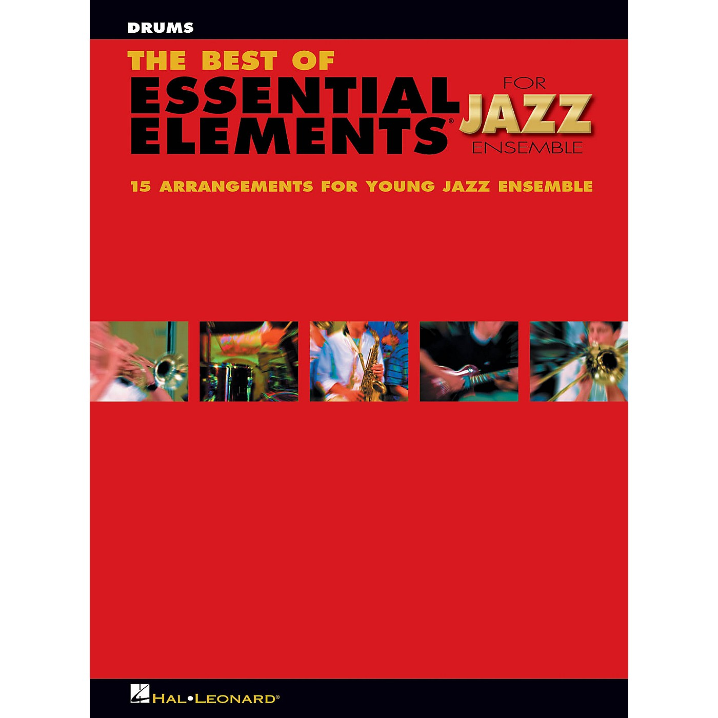 Hal Leonard The Best of Essential Elements for Jazz Ensemble Jazz Band Level 1-2 Composed by Michael Sweeney thumbnail